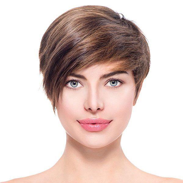 Fryzura Natural Look Włosy Krótkie