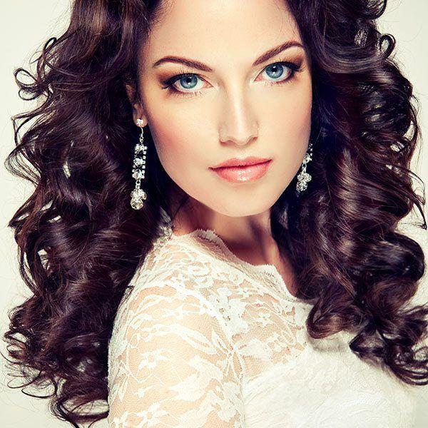 Fryzura Glamour Look Włosy Długie