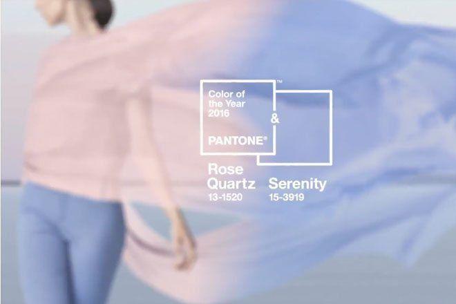 Pantone - quartz i serenity.