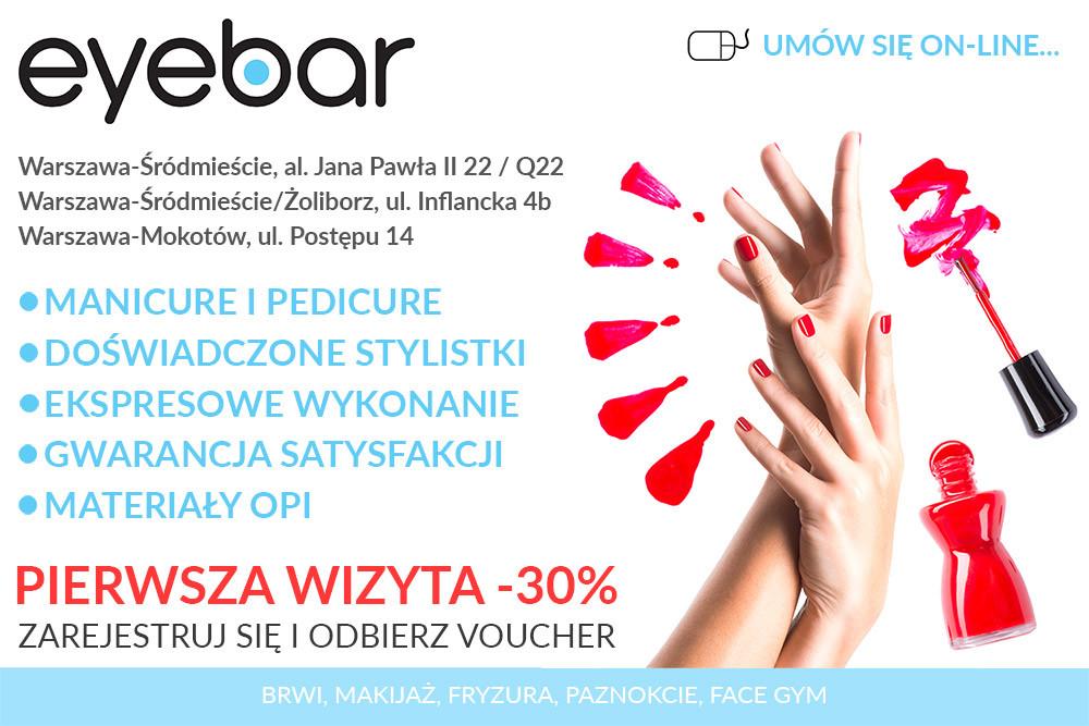 Rejestracja - voucher -30% - paznokcie